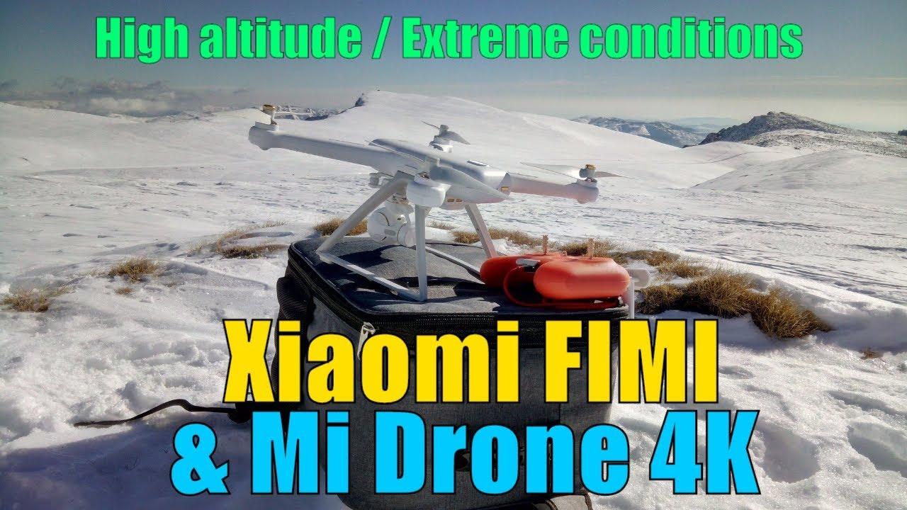 Xiaomi FiMi & Mi Drone 4K